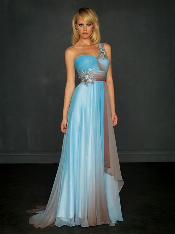 Синие платье 2017