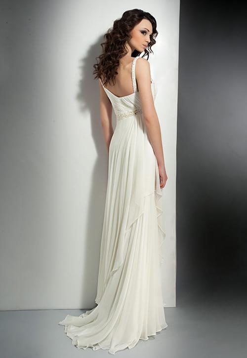 Греческие платья. Длинные модели 2016