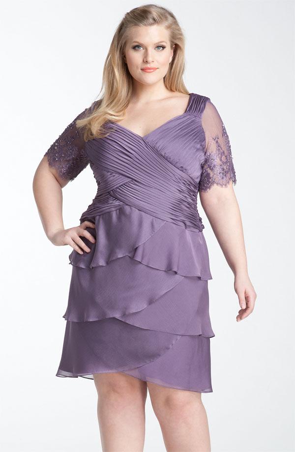 Вечерние платья из шифона