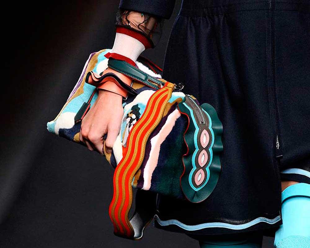 Коллекция Fendi 2018. Одежда, сумки, очки. Фото с сайта.