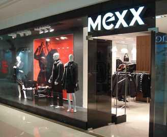 Магазин одежды mexx.