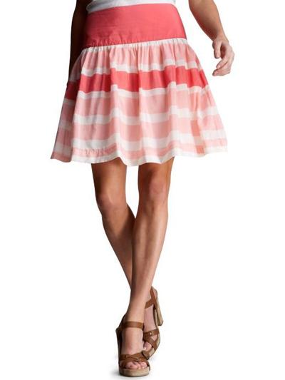 Недостатки в раскрое юбки полусолнце
